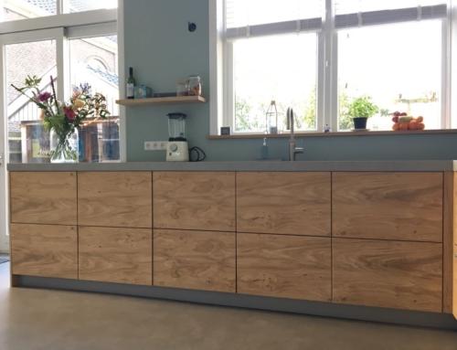 Keuken van eikenhout